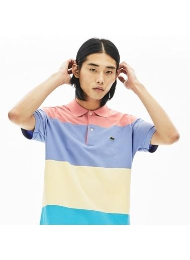 Lacoste Erkek Klasik Tişört PH5077.XH9 Renkli